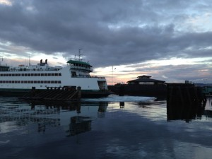 The ferry ride to Vashon is a fun experience for the whole family. Make sure to get out onto the decks and take a look to the Southeast side of the boat for a chance to see Mt. Rainier.