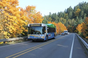 A primarily-CNG fueled bus fleet isn't the only way Pierce Transit is reducing its carbon footprint. Photo courtesy: Pierce Transit.