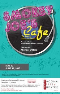 Theater: 'Smokey Joe's Café' @ Tacoma Little Theatre | Tacoma | Washington | United States
