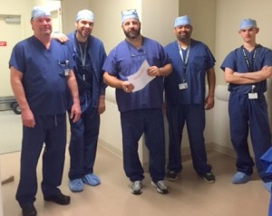 The surgical team at the OOA outpatient surgery center has been successfully serving outpatient total joint patients for over a year.