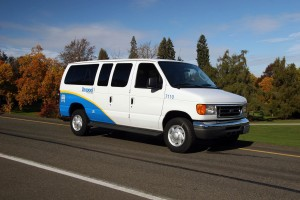 Starting in 2016 Pierce Transit is beginning the Care-a-Van program, which transfers retiring vehicles to qualifying not-for-profit organizations that provide rides and services for people with special needs. Photo courtesy: Pierce Transit.