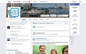 SouthSoundTalk distributes content via social media to reach tens of thousands of readers across Pierce County.