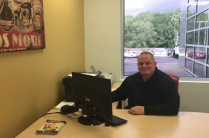 Ron Moore gives his customers a straightforward approach at Washington Auto Credit.