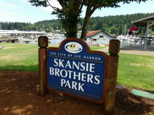 Skansie Brothers Park in Gig Harbor is a small-yet-mighty picnic spot. Photo credit: Kristin Kendle.
