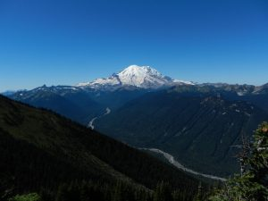 View of Mount Rainier from Crystal Mountain