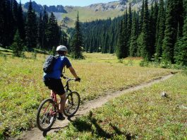 Crystal Mountain bike riding
