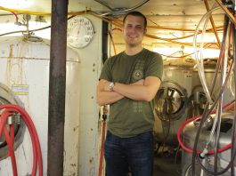 Powerhouse Restaurant and Brewery co-owner Dan Tweten