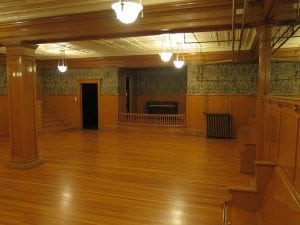 Rust Mansion Ballroom