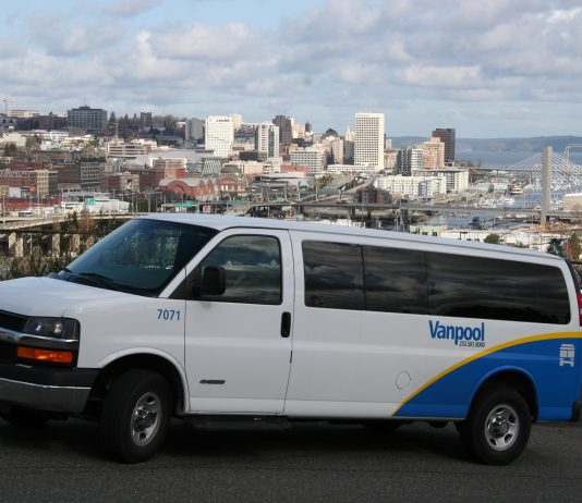 Pierce Transit Vanpool