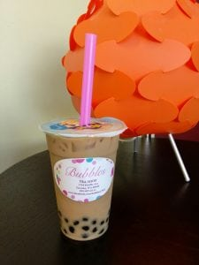 Pumpkin Spice Bubble Tea