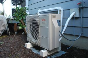 Ductless exterior