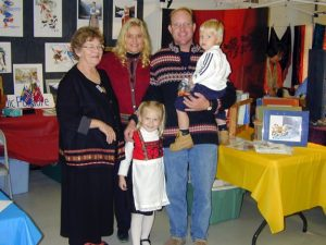 Sharon Aamodt and family