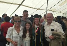 Christy Upton Graduation