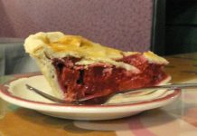 Rhubarb pie