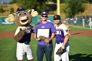 Tacoma Rainiers Paint the Park Purple