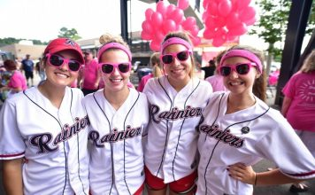 Tacoma Rainiers Pink at the Park