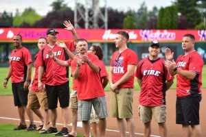 Tacoma Rainiers First Responder Night