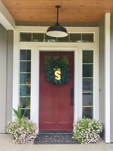 Home porch door