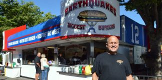 earthquakes burger