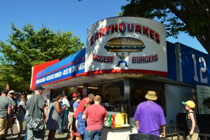 earthquakes burgers
