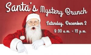 Santa Mystery Brunch @  Environmental Services Building at Chambers Creek Regional Park  | University Place | Washington | United States