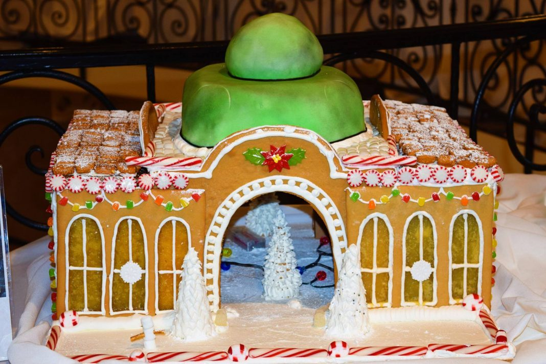 Gingerbread Showcase Marriott Tacoma