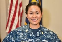 Chief Petty Officer Runsiya Richards