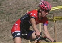 Monica racing cyclocross