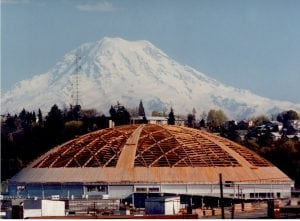 Tacoma Dome Construction