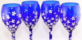 Cosmic Spark Designs Wine Glasses