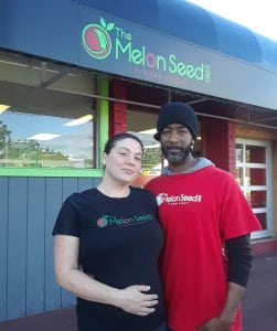 Melon Seed Owners Mac and Tashia
