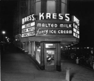 Kress Malted Milk Shop