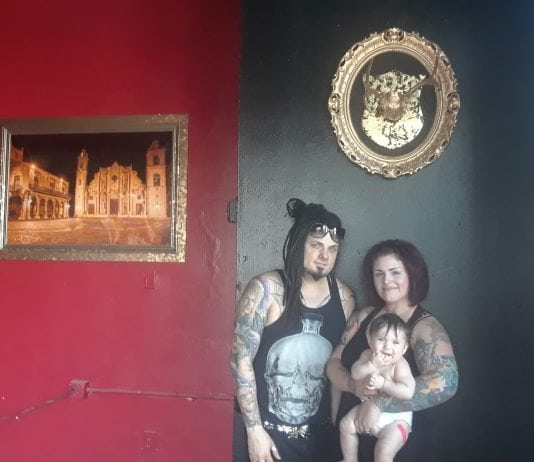 Adam, Nicole and Daughter