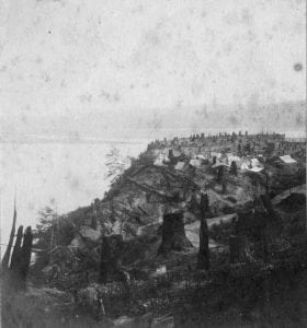 1873 First photo of Tacoma