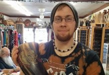 Longship Customer Drinking Horn