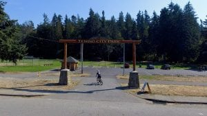 Yelm Tenino Trail City Park Entrance