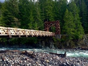 Longmire Bridge at Mount Rainier
