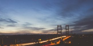 Tacoma Narrows Bridge Photography