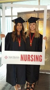 RN and BSN grads