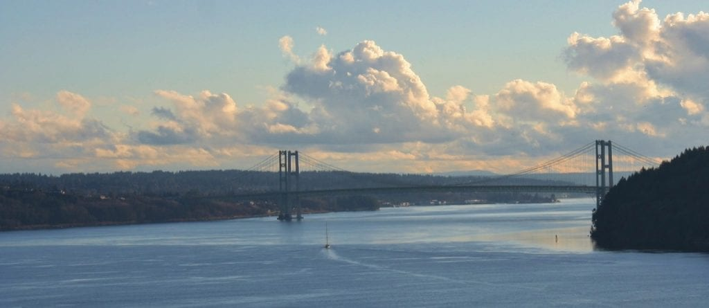 Tacoma Narrows from Point Defiance