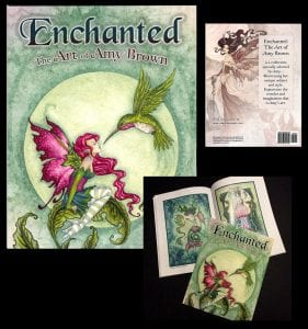 Amy Brown Enchanted book collection