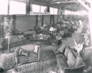 Furniture expo in 1926