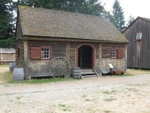 Fort Nisqually Granary
