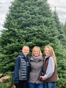 Lacy Waltermeyer and her kids