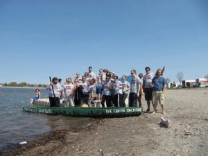 SMU Engineering Conference 2019 concrete canoes
