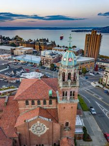 Over Tacoma Photography