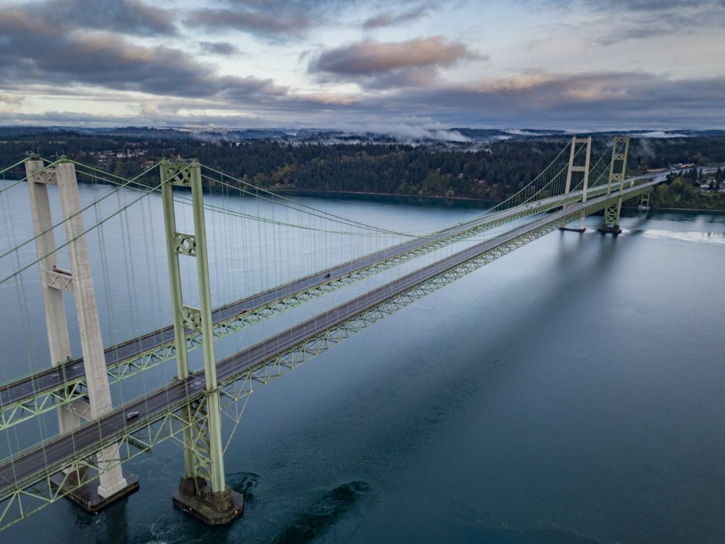Aerial Narrows Bridge