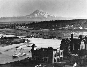 Mount Rainier 1894 Tacoma skyline