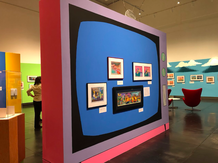 Simpsons at Tacoma Art Museum