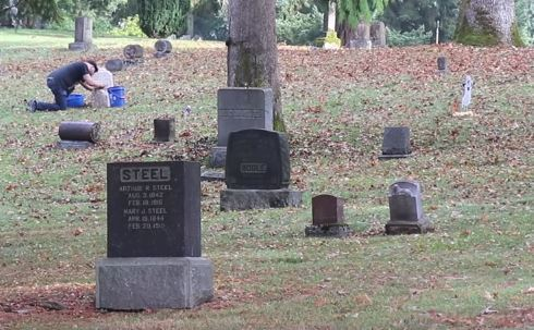 Tacoma grave cleaning